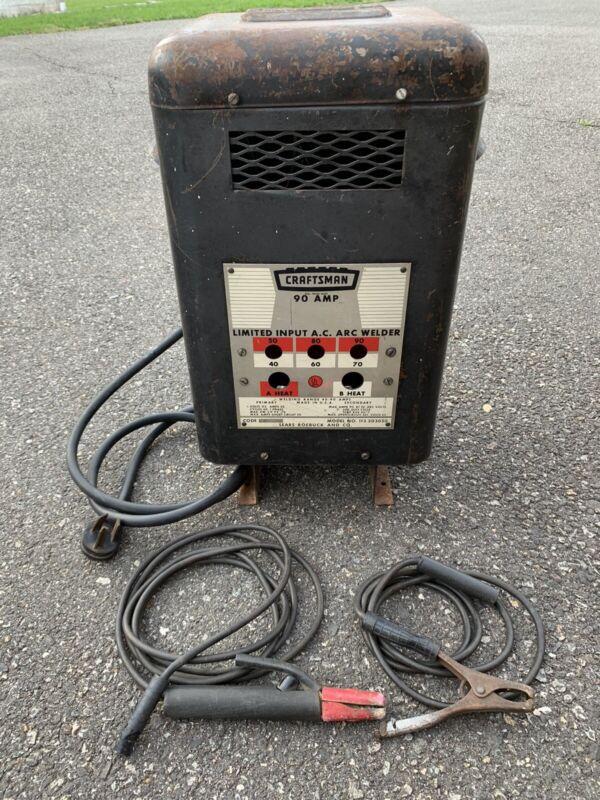 Vintage Sears Craftsman 90 AMP 230 volt Welder Model 113.203050 Rare Piece WORKS