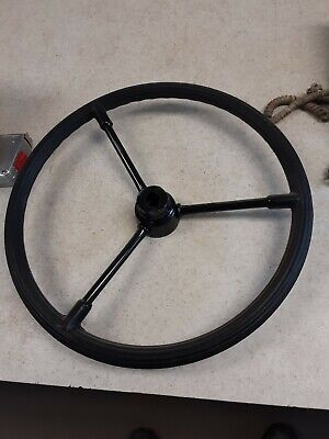 John Deere Early Styled Bbobr Steering Wheel Ab218r