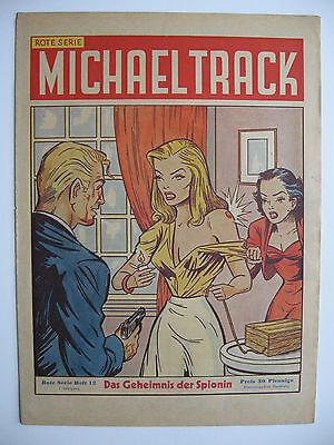 Michael Track Heft 12, Drei Heinzelmännchen Verlag 1950, Zustand 2