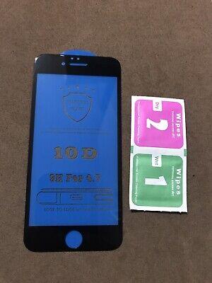 Protector de pantalla Cristal Templado 10D iPhone 6/6S/. Envío Desde España