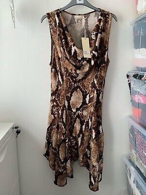 BNWT QED London Hanky Hem Dress Size 12
