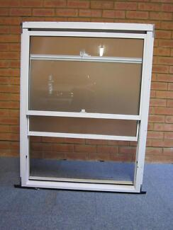 DOUBLE HUNG ALUMINIUM WINDOW WITH FLYSCREEN H: 1150 W: 860 Gladesville Ryde Area Preview