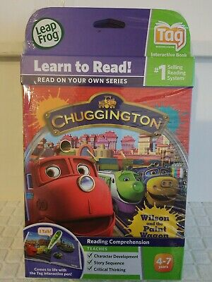 LeapFrog TAG & LeapReader Chuggington and the Paint Wagon NEW (Free shipping)