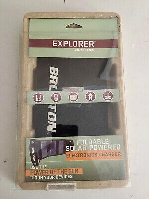 Brunton Explorer Foldable Solar-Powered Electronics Charger