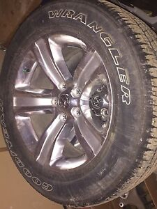 Dodge Ram 1500 tires and rims