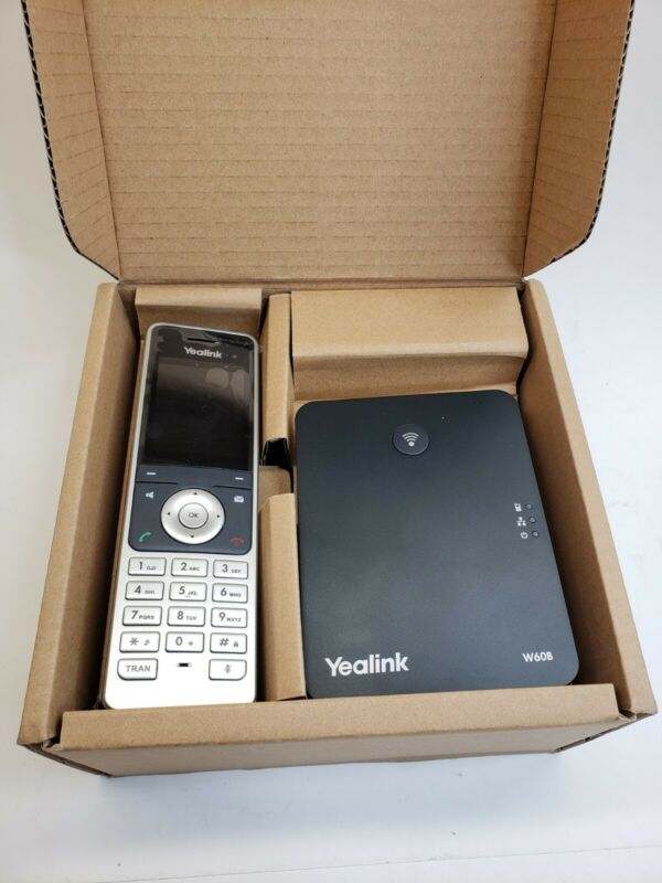 Yealink - W60P Dect Base and Handset Package