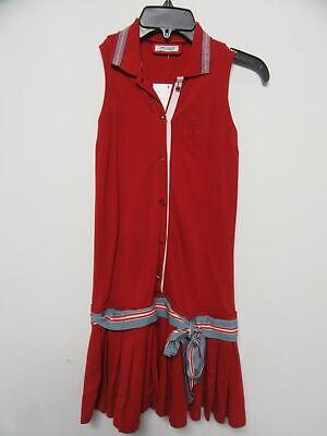 I PINCO PALLINO red sleeveless dress girls sz 12Y