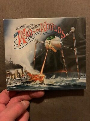 Jeff Wayne's War of the Worlds 2CD Brand New And Sealed