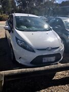 White Ford Fiesta 2009 in excellent condition Lawson Belconnen Area Preview