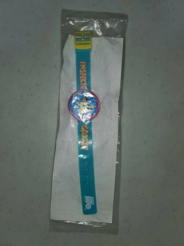 1992 Life cereal premium Inspector Gadget Watch mint in poly bag battery dead