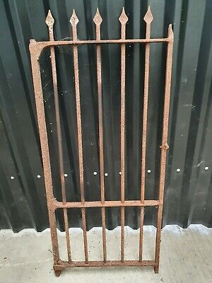 Old Wrought Iron Side Gate