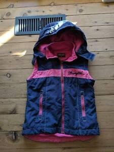Girls Wrangler Vest Size 10