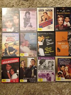 12 x DVDS 1950's classics like new Canning Vale Canning Area Preview