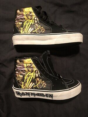 NEW OLD STOCK Vans IRON MAIDEN SK8-Hi KILLERS Rare Men's Size 4 NOS