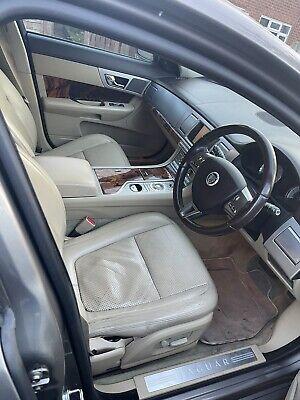 JAGUAR XF LEATHER SEATS FRONT REAR DOOR CARD CREAM INTERIOR LUXURY 2008
