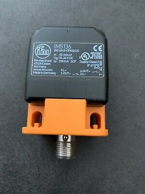 Inductive Sensor Ifm Im5136 Proximity Switch