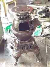 Scandia Mascot Cast Iron Pot Belly Stove/Wood Heater Cannington Canning Area Preview
