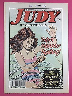 JUDY - Stories For Girls - No.1597 - August 18, 1990 - Comic Style Magazine