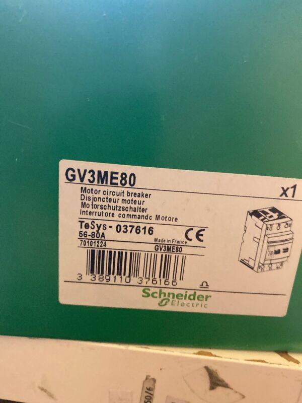 GV3ME80    Manual Motor  Starter