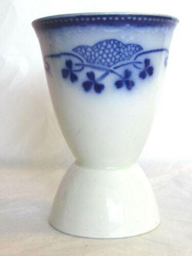 RARE GRINDLEY LORNE FLOW BLUE DOUBLE EGG CUP HOLDER ENGLAND C 1914