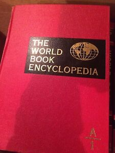 World Book Encyclopedia 1971