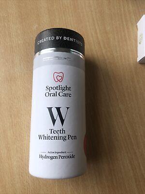 Spotlight Oral Care Teeth Whitening Pen, SEALED