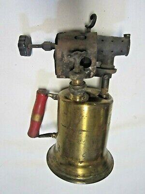 CLAYTON & LAMBERT MFG CO. BLOWTORCH BLOW TORCH BRASS Vintage Antique USA