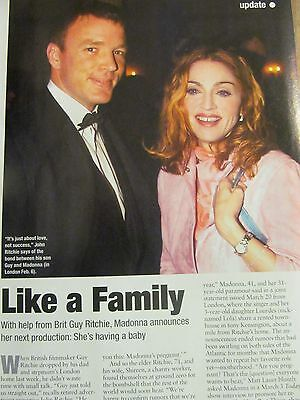 Madonna, Full Page Clipping