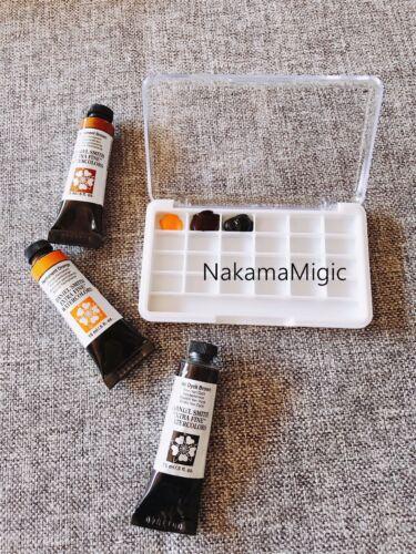Mini Travel Size empty watercolor case 24 compartment palette