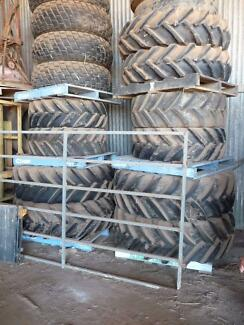 Tractor Tyres heaps of sizes, New and Used, mostly from JXU 80 Glass House Mountains Caloundra Area Preview