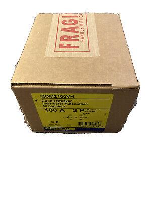 Square D Qom2100vh New In Box 100amp 120240v 2pole