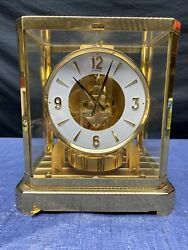 JAEGER-LECOULTRE ATMOS CLOCK 528-8 527091 RUNNING & STUNNING CONDITION
