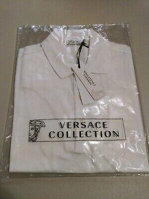 Versace Collection Medusa Men's Short Sleeves Polo Shirt Sz 2XL