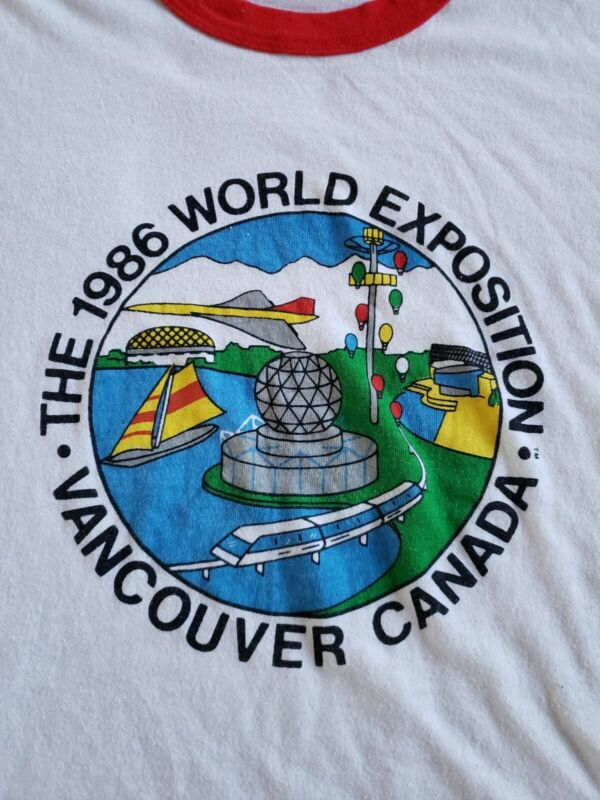 Vintage 1986 World Exposition Vancouver, Canada t-shirt (small to medium)