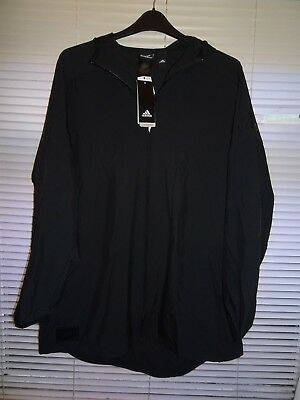 Adidas ALL BLACKS Hooded  Lightweight Rugby Jacket *Size XL* BNWT RRP £59.95