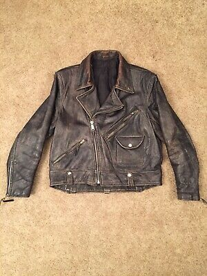 Trojan Leather Sportswear Style Leather Jacket for sale  Shipping to India