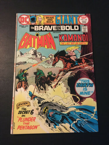 BRAVE AND THE BOLD #120 1975 DC GIANT FN/VF