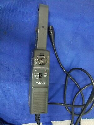 Fluke 80i-110s Acdc Current Probe 600v Ac Rms Voltage