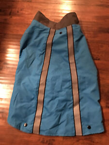 TOP PAW 2 IN 1 DOG COAT FLEECE WINDBREAKER