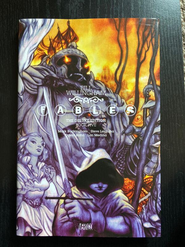 Fables Deluxe Edition Vol. 5 DC Vertigo Comics Hardcover OOP