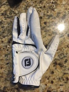 Youth medium left hand golf glove