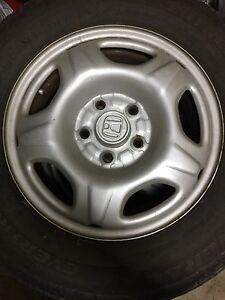 HONDA CRV RIMS AND TIRES__GOOD CONDITION $270
