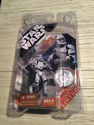 Star Wars Clone Trooper Revenge of the Sith 30th Saga Legends Hasbro 2007