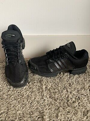 Adidas Climacool Trainers Size UK 10 Triple Black Excellent Condition