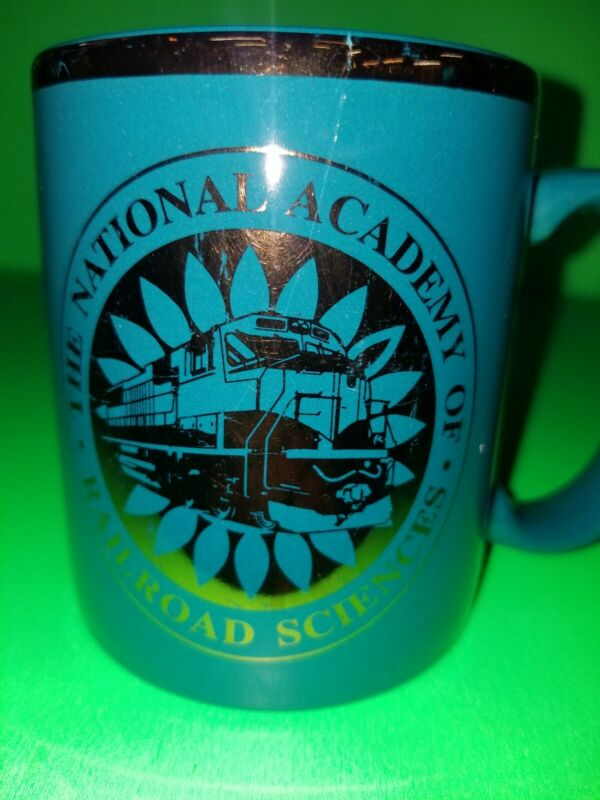 RAILROAD NATIONAL ACADEMY OF RAILROAD SCIENCES COFFEE CUP. (A4)