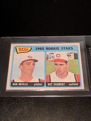 1965 Topps #398 Art Shamsky/Dan Neville Rookie Stars EX NRMT
