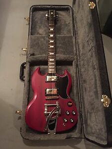 Epiphone SG with a Bigsby