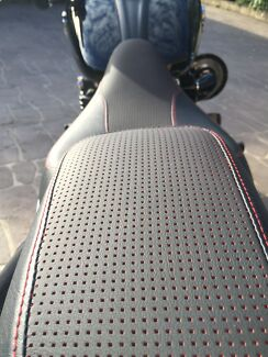 Motor bike custom seats Harley Davidson Yamaha dirt bikes  Ryde Ryde Area Preview