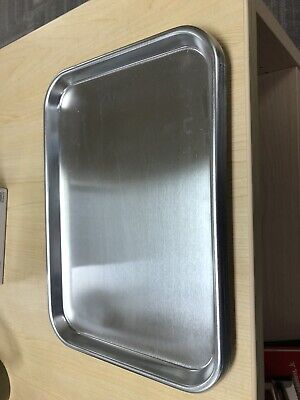 Dci Adec Style Stainless Steel Instrument Tray 9 34 X 13 12 Repl. 043.001.00