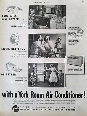 1953 York room air conditioner feel look be better vintage